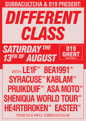 Different Class - Subbacultcha