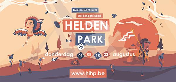 Helden in het park